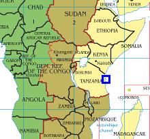 kart øst afrika Vår posisjon på angitt dato kart øst afrika